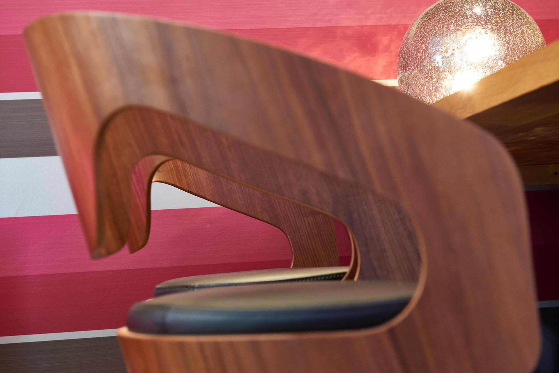 Bar stool detail